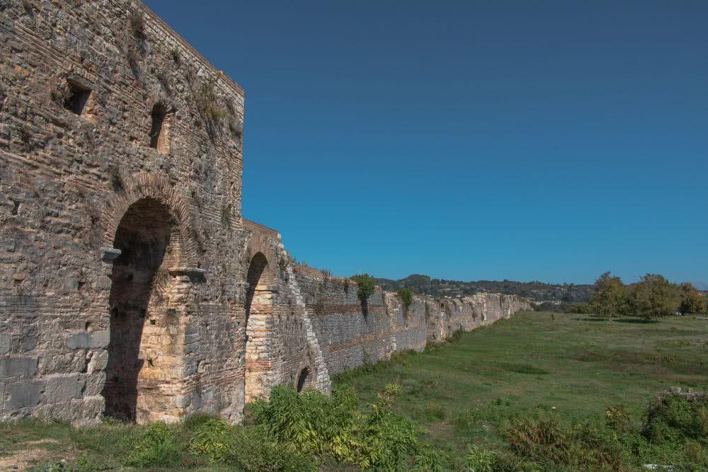 Die archäologische Seite von Nikopolis