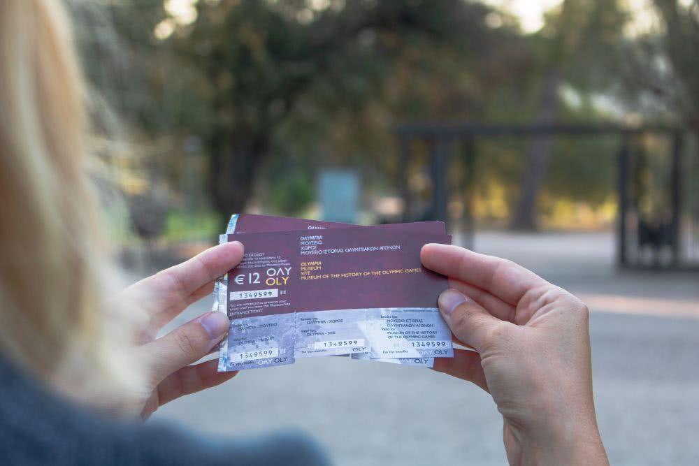 Das Kombi-Ticket für die archäologische Stätte Olympia und zwei Museen