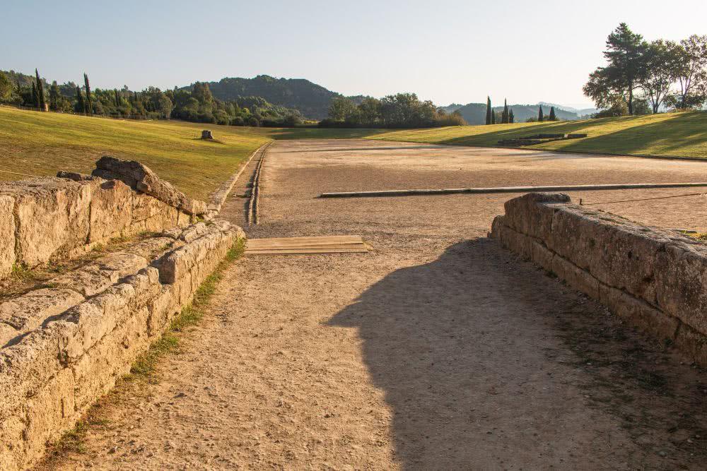 Olympische Laufwettkämpfe haben vor vielen Hundert Jahren vor Christus stattgefunden