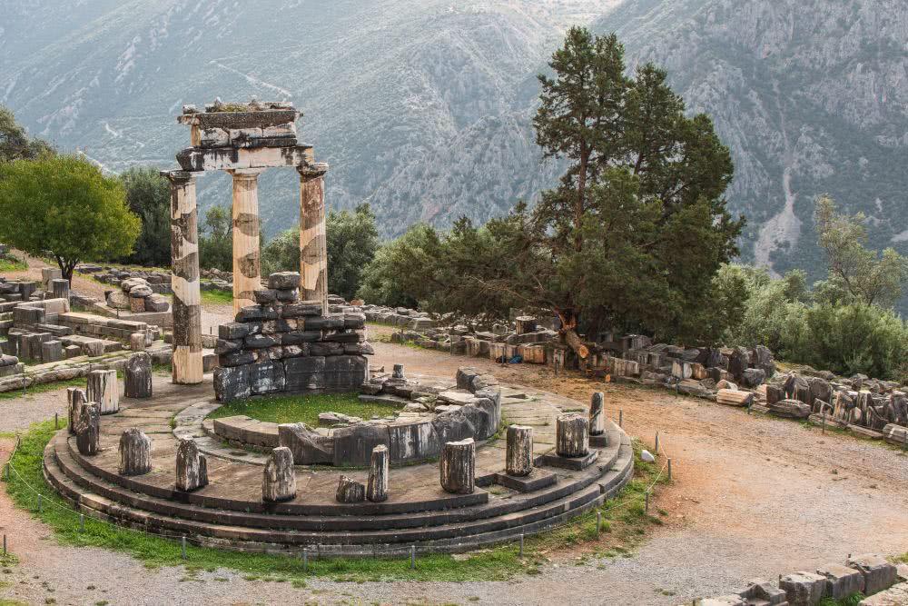Das griechische Kulturerbe Delphi