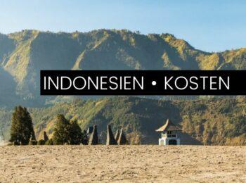 MITTELAMERIKA: Das kostet Indonesien wirklich: Backpacking auf Java, Bali, Flores & Komodo