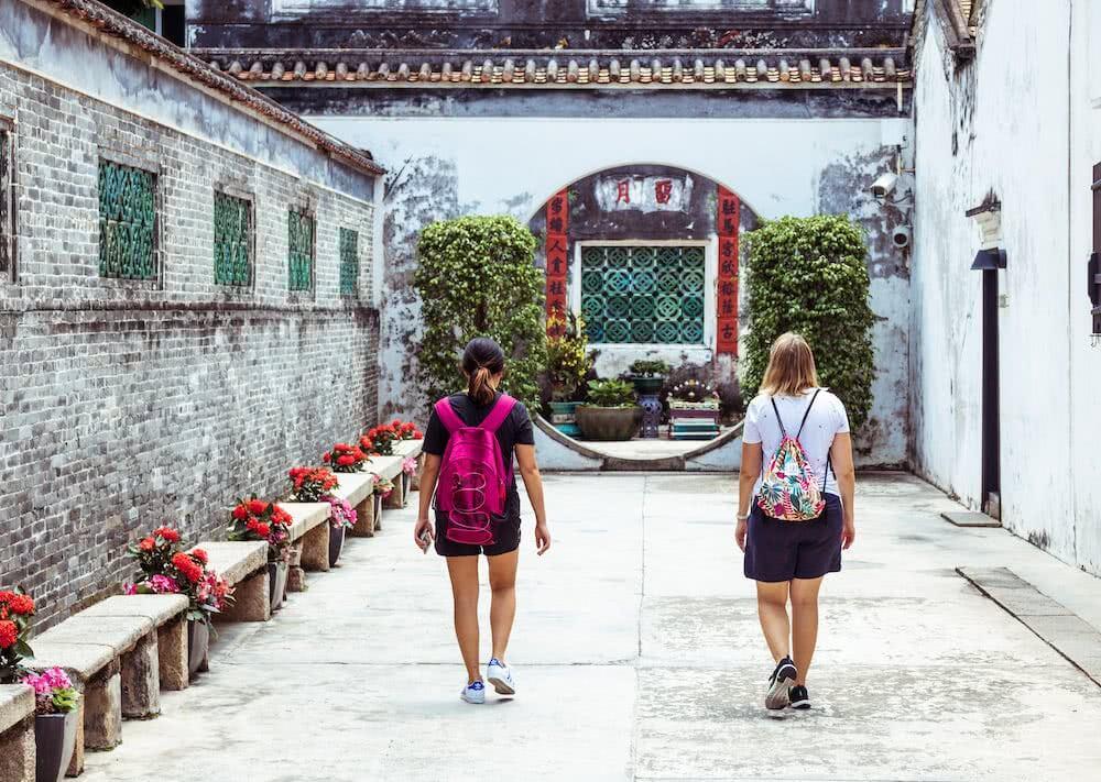 Janines Freundin Grace führte uns durch Macau.