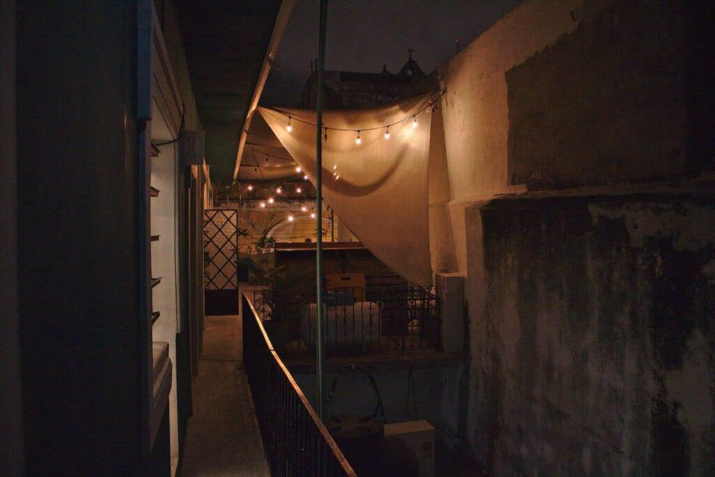 """Die Abende konnten wir gemütlich auf der Terrasse des Hostels """"Casa Jade"""" verbringen."""