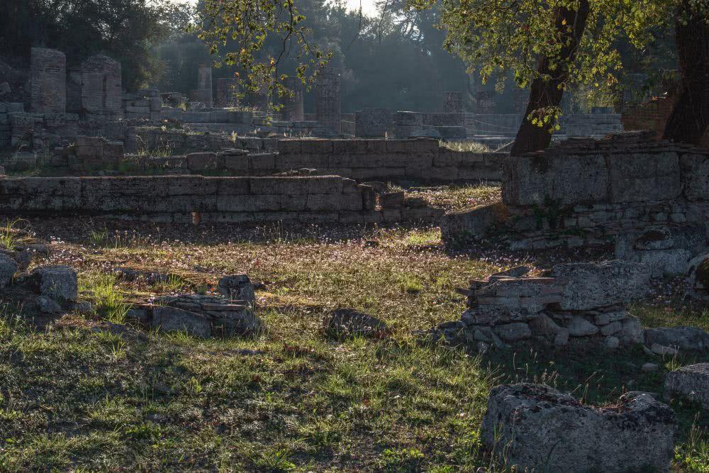 Kaum zu glauben, dass hier die antiken olympischen Spiele ausgetragen worden sind