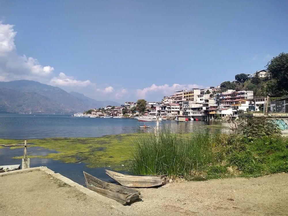 San Pedro La Laguna ist ein nettes kleines Städtchen am Atitlán See.