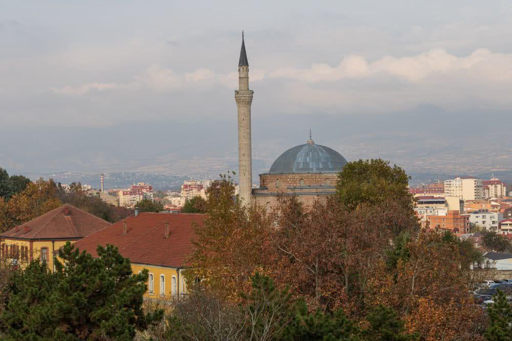 Eine von vielen beeindruckenden Moscheen im Basar-Viertel
