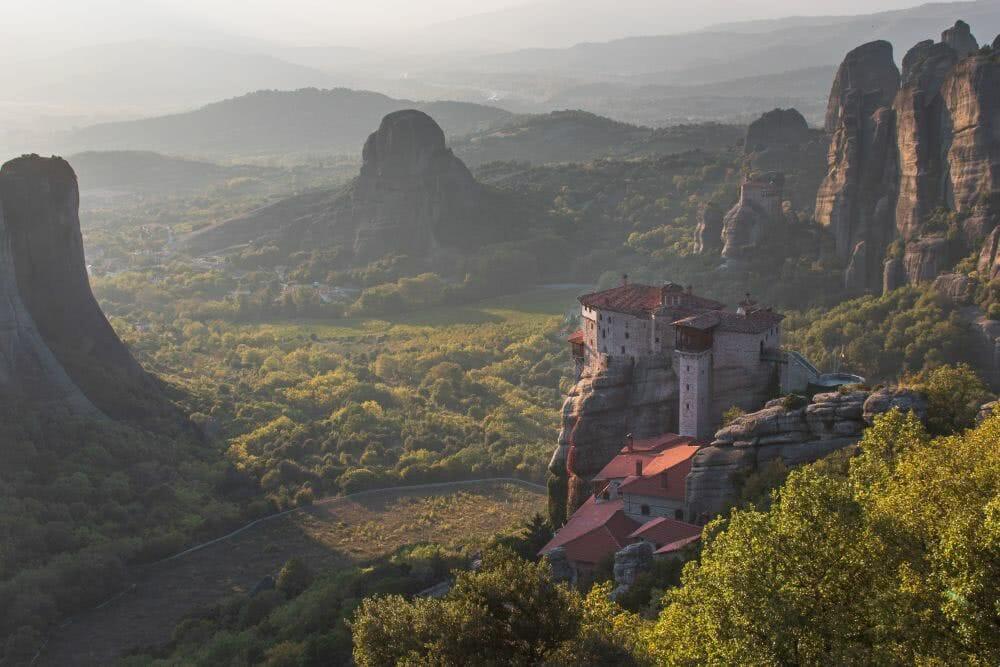 Die schwebenden Klöster von Meteora sind auf der UNESCO Liste