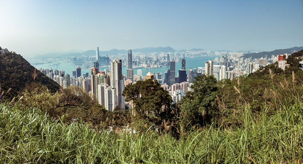 Hongkong vom Victory Peak