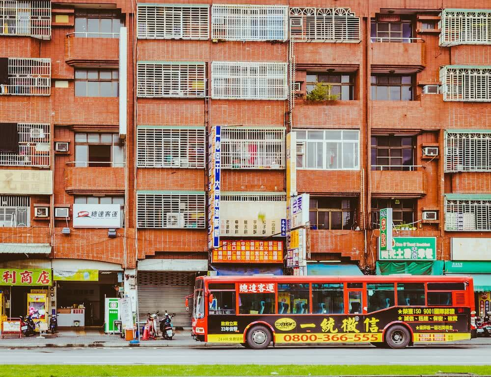 Viele hohe Häuser ohne große Anziehungskraft sahen wir in Taichung.