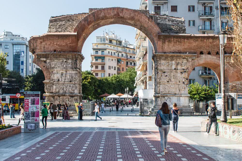 Altstadt Thessaloniki ist Teil des UNESCO Kulturerbes