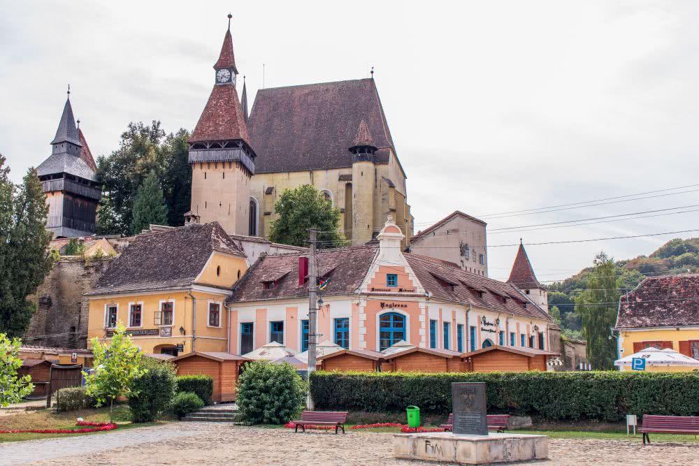 Biertan und seine Kirchenburg  in Siebenbürgen