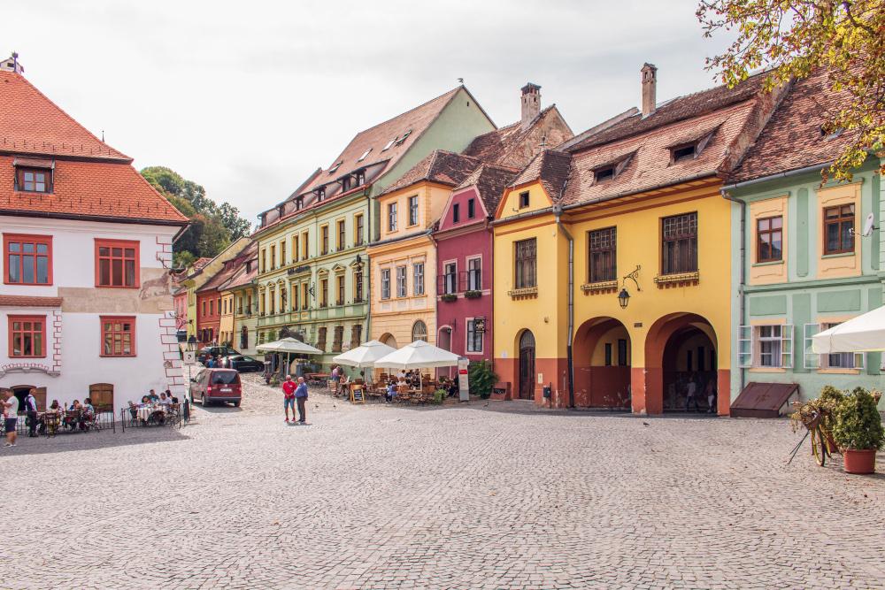 Das rumänische Kulturerbe: Die Altstadt von Sighișoara