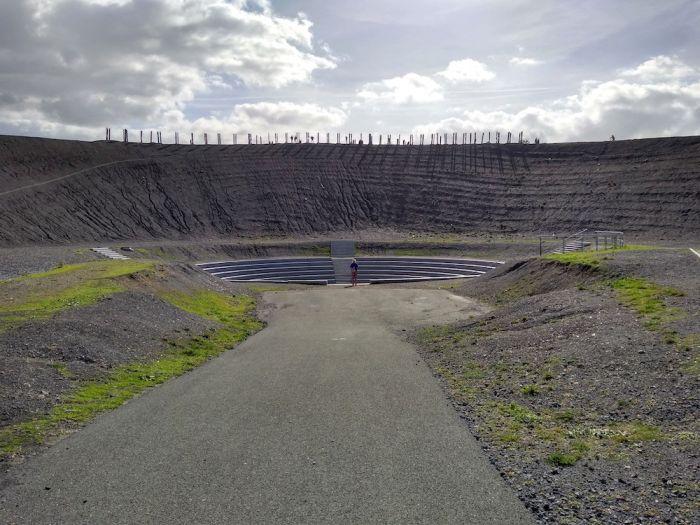 Das Amphitheater auf der Halde Haniel