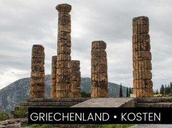 GRIECHENLAND: So viel kostet eine Rundreise durch Griechenland