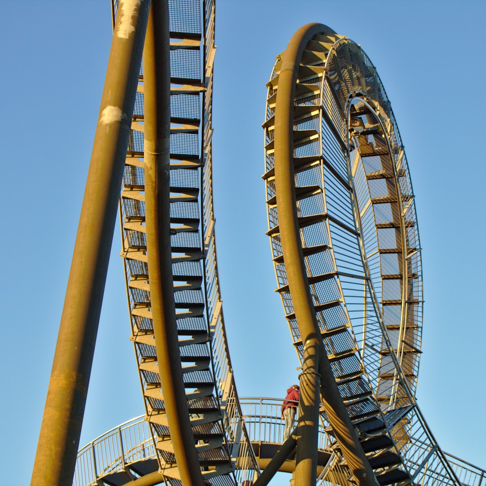 Doppelter Looping in Duisburg