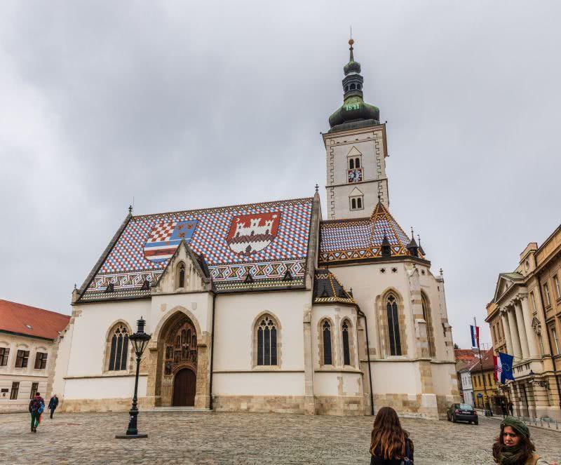 Die wnderschöne, bunte St.-Markus-Kirche