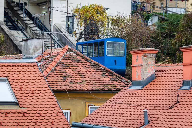 Zagrebs Standseilbahn - eher eine Sehenswürdigkeit als ein Transportmittel