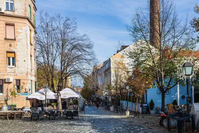 Belgrads Altstadt ist eine der sehenswerten Balkanstädte