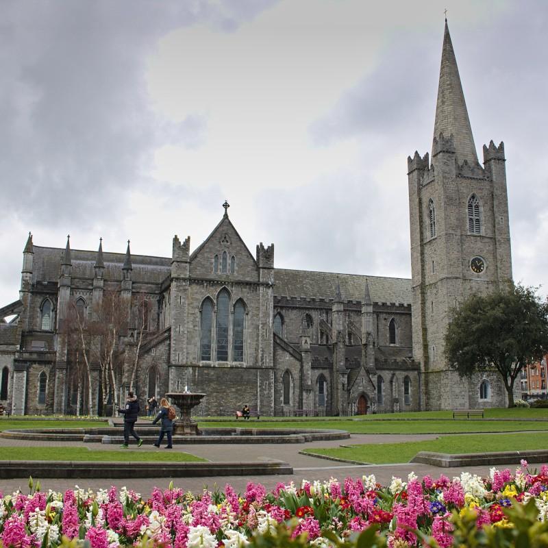Die wohl berühmteste Kathedrale in Dublin