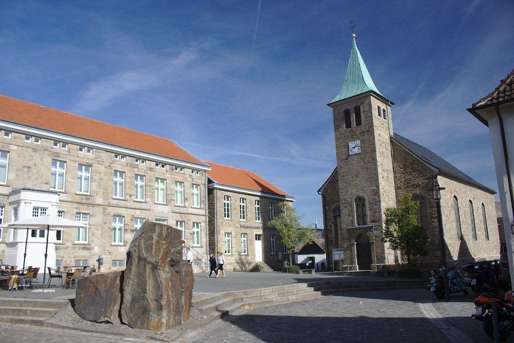 Hattingen-Marktplatz in der Altstadt