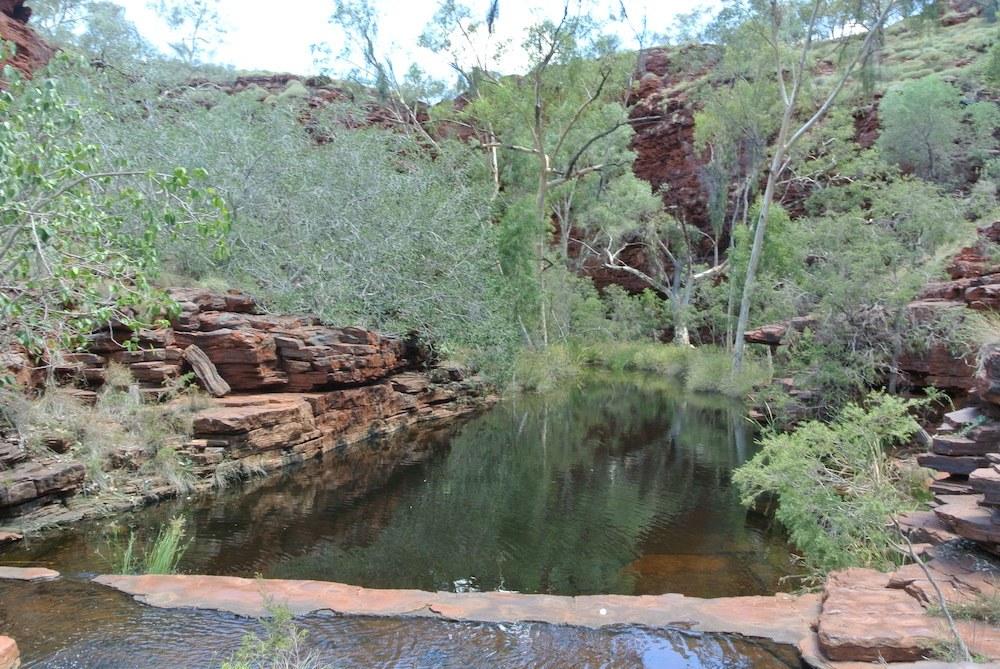Und noch ein natürlicher Pool zum Schwimmen