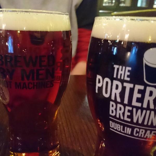 Die Porter Brauerei in Dublin