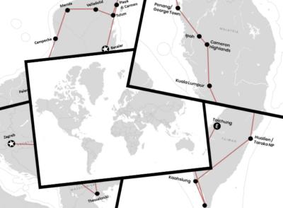 VERSCHIEDENE LäNDER: Weltreise: Route, Kosten, Planung, Backpacking & Berichte