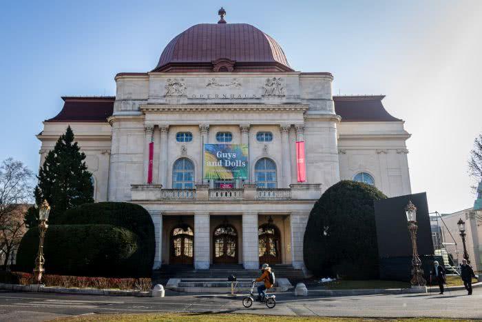 Die Grazer Oper am Rande der Altstadt