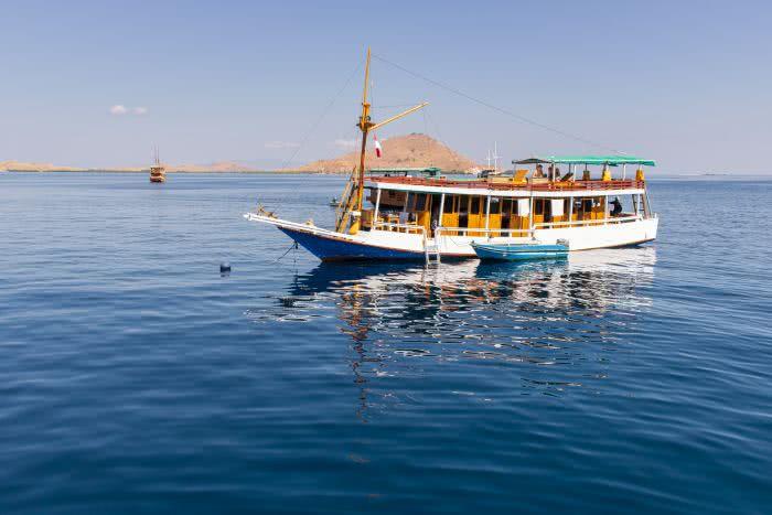 Unsere Bootstour Richtung Komodo Nationalpark