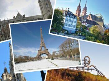 DEUTSCHLAND: Schöne Städtereisen in Europa im Frühling, Herbst + Winter