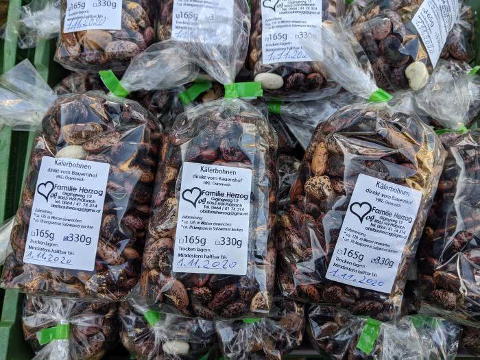 Käferbohnen sind ein beliebtes Gericht in der Steiermark