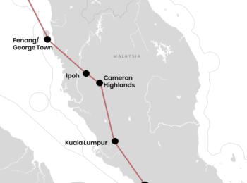 : Unsere Reiseroute durch Malaysia für Backpacker (+ Karte)