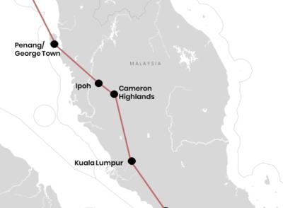 Unsere Reiseroute durch Malaysia für Backpacker (+ Karte)