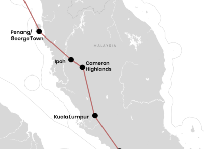 MALAYSIA: Unsere Reiseroute durch Malaysia für Backpacker (+ Karte)