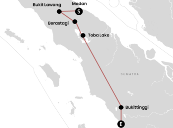 INDONESIEN: Unsere Reiseroute für Sumatra (+Karte) – Backpacking Erlebnis pur
