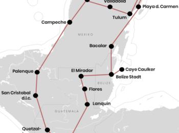 MEXIKO: Rundreise durch Mexiko, Guatemala & Belize mit Route (+Tipps)