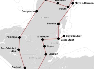 Rundreise durch Mexiko, Guatemala & Belize mit Route (+Tipps)