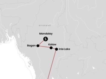 TAIWAN: Reiseroute durch Myanmar für 2 Wochen Backpacking