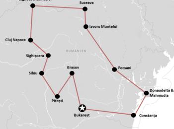 : Unsere Rumänien Rundreise mit Mietwagen (+Route für Selbstfahrer Roadtrip)