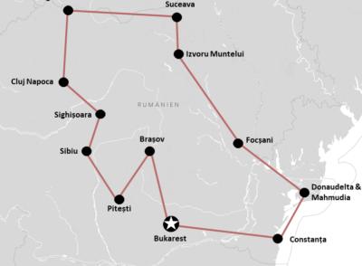 RUMäNIEN: Unsere Rumänien Rundreise mit Mietwagen (+Route für Selbstfahrer Roadtrip)