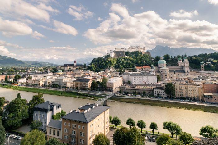 Bei der Aussicht ist es kein Wunder, dass Salzburg so beliebt ist