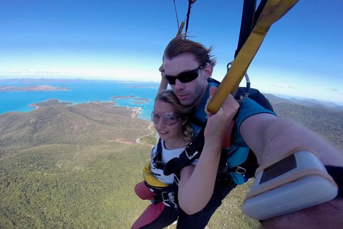 Mein Skydiving Erlebnis in Airlie Beach