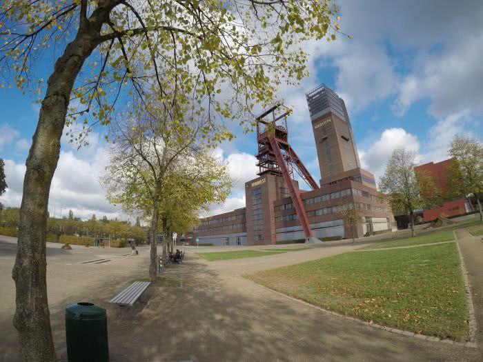 Ein Spaziergang am Wochenende durch den Nordsternpark in Gelsenkirchen