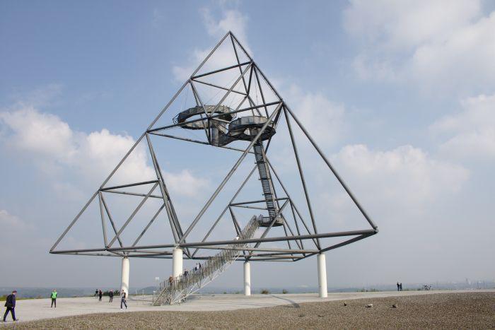 Das Tetraeder in Bottrop ist ein schöner Fotospot im Ruhrgebiet
