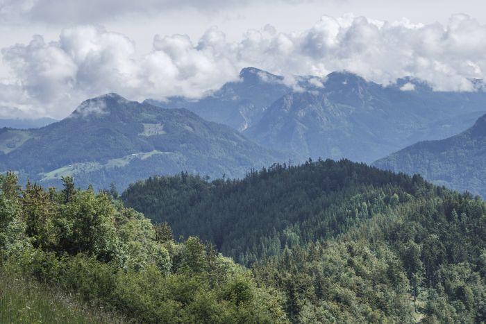 Beeindruckende Bergwelten bei der Wanderung in der Nähe von Graz