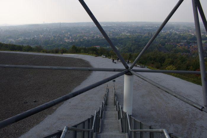 Ein Ausblick auf das Ruhegbiet vom Tertraeder aus