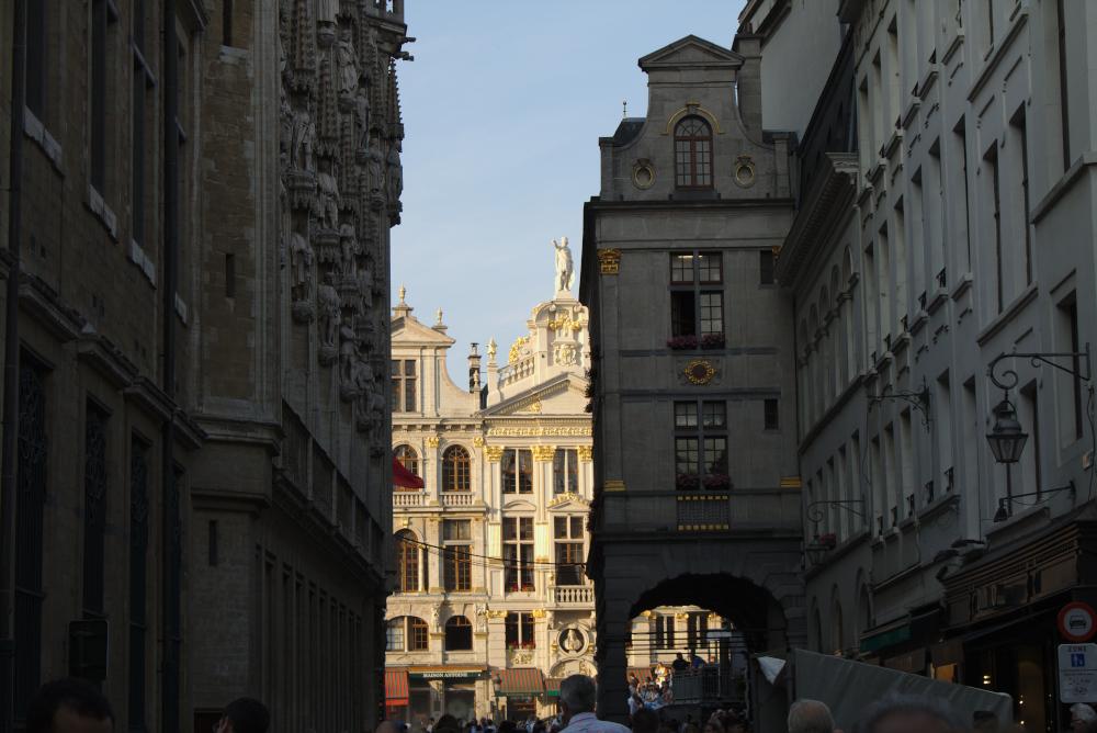 Der Große Platz in Brüssel gehört zum europäischen Weltkulturerbe