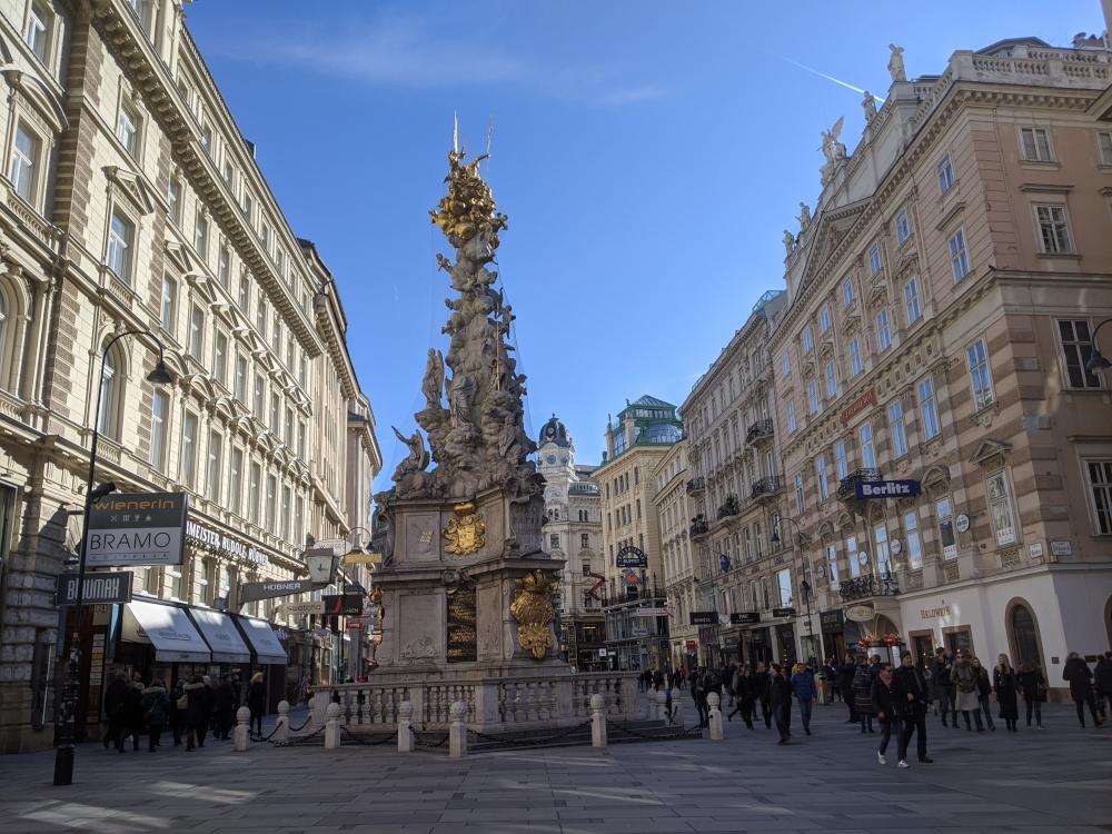 Das wunderschöne Zentrum von Wien ist als gefährdetes Kulturerbe eingestuft