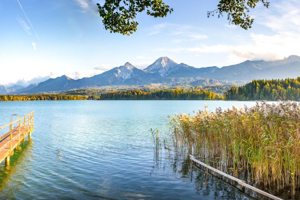 Der Faaker See in Kärnten ist ein Naturjuwel