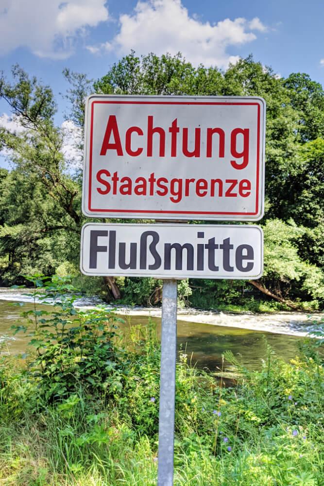 Ein zweigeteilter Fluss: Österreich & Tschechien